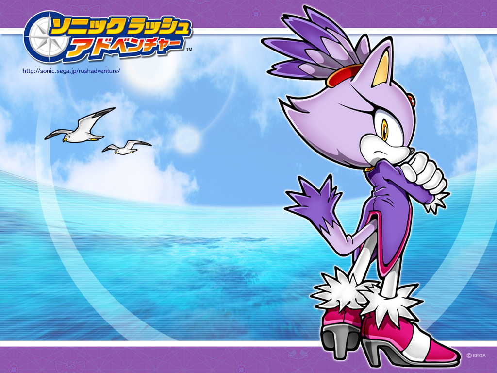 Wallpapers - Sonic Rush e Rush Adventure